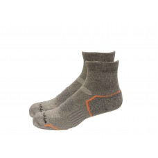 Columbia Balance Point Quarter Sport Sock 2 Pair, M10-13, Charcoal