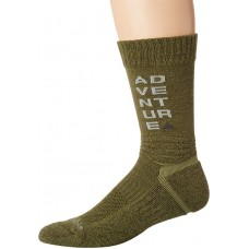 Columbia Adventure Hike Crew Lightweight Socks, Nori, Small Women Shoe Size 4-7.5, 1 Pair