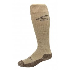 Ducks Unlimited Merino Wader Socks, 1 Pair, Brown, Medium, W 6-9 / M 4-9