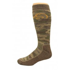 Ducks Unlimited Camo Tall Boot Socks, 1 Pair, Camo, X-Large, M 12-16