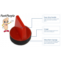 FeetPeople Foam Polish Applicators