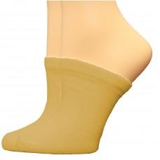 FeetPeople Premium Clog Socks 2 Pair, Nude