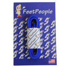 FeetPeople Leather Shoe/Boot Laces, Royal Blue