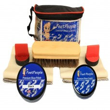 FeetPeople Premium Conditioning Kit with Travel Bag, Black