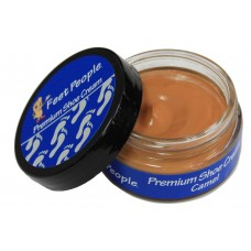 FeetPeople Premium Shoe Cream 1.5 oz, Camel