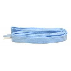 FeetPeople High Quality Fat Laces For Boots And Shoes, Carolina Blue