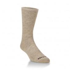 Hiwassee Full Cushion Performance Mini Crew Socks 1 Pair, Oatmeal, Large