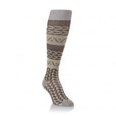 Hiwassee Downtown Knee High Socks 1 Pair, Chestnut, Medium