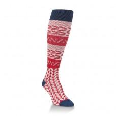 Hiwassee Downtown Knee High Socks 1 Pair, Americana, Medium