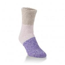 Hiwassee Fireside Crew Socks 1 Pair, Lily, Medium