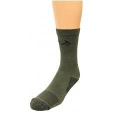 RealTree Insect Shield Crew Socks, 1 Pair, Medium (W 6-9 / M 4-9), Olive