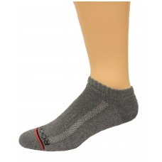 Rockport Men's No Show Socks 4 Pair, Grey, Men's 8-12