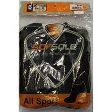 Sof Sole All Sport No Show Socks (6pr), Black, Mens 5-9.5