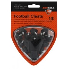 Sof Sole Football Cleats Steel/Plastic 1/2 inch