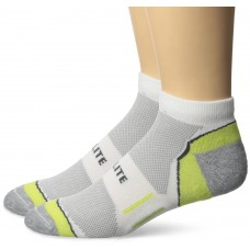 Top Flite Half Cushion Low Cut Socks, Green, (L) W 9-12 / M 9-13, 2 Pair