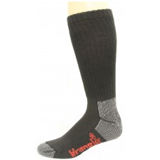 Riggs by Wrangler Men's Steel Toe Boot Sock 2 Pair, Black, M 8.5-10.5